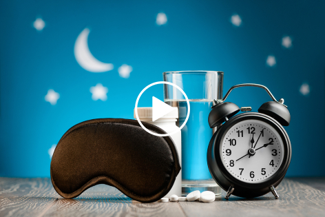 Melatonin Recommended as First Choice Sleep Aid for Individuals Over 55 yr.